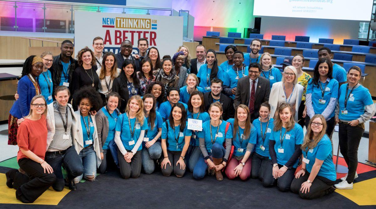 Eine UN Konferenz wie keine andere: Leaders aus der ganzen Welt zeigen beim zweiten Global Festival of Action wie man Nachhaltigkeit umsetzt