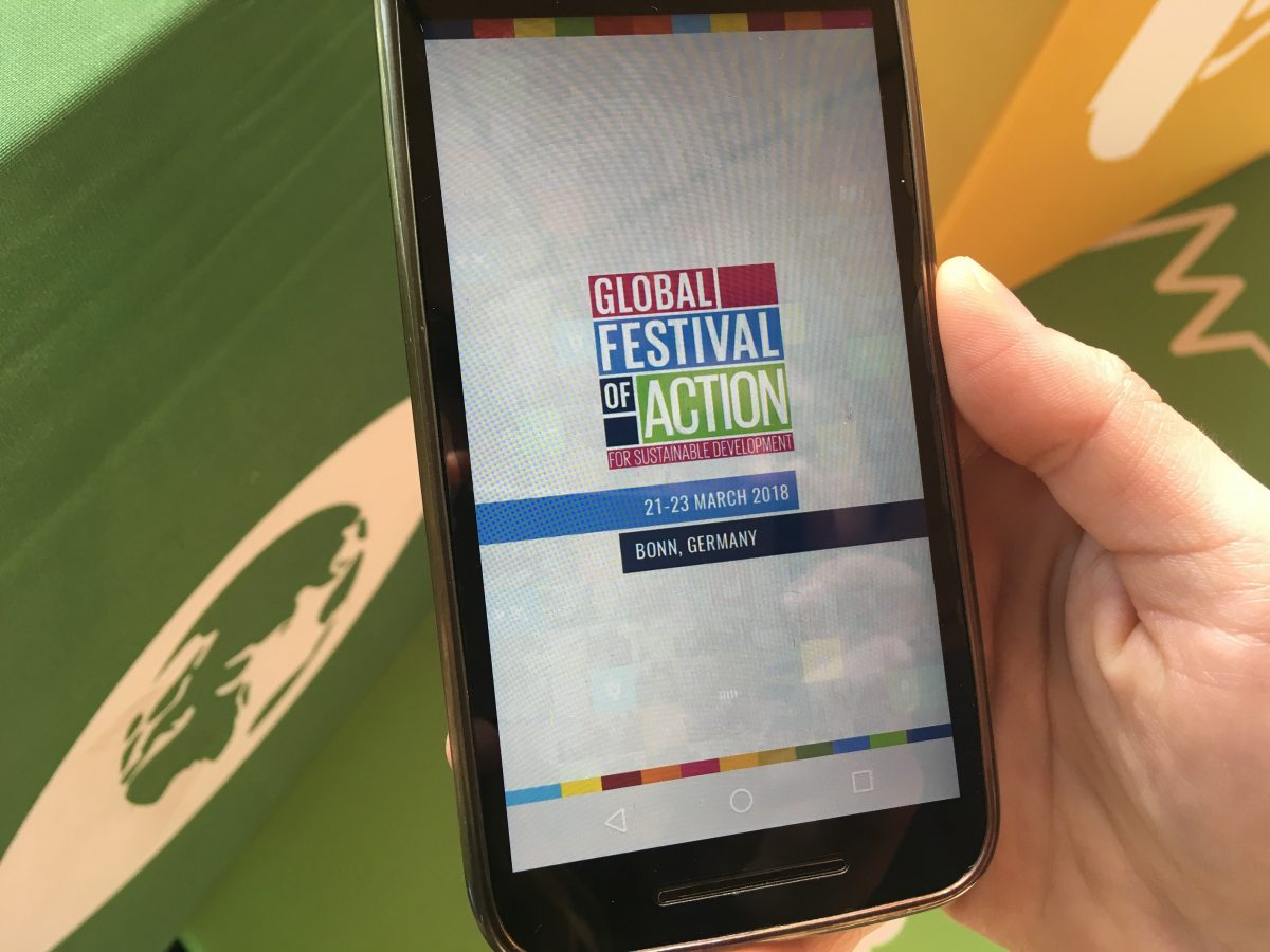 Download the Festival app